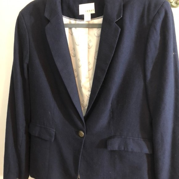 KENAR Jackets & Blazers - Navy Kenar with brass buttons Ladies Jacket XL